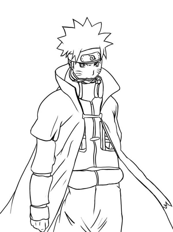 awesome naruto coloring page - Naruto Coloring Pages