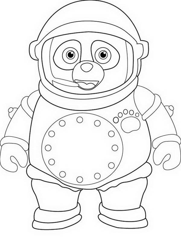 Awesome Special Agent Oso Coloring Page  Download  Print Online
