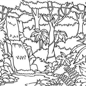 dragonfly rainforest insect animals coloring page: dragonfly ... - Rainforest Insects Coloring Pages