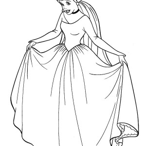 Cinderella Of Objects Coloring Pages