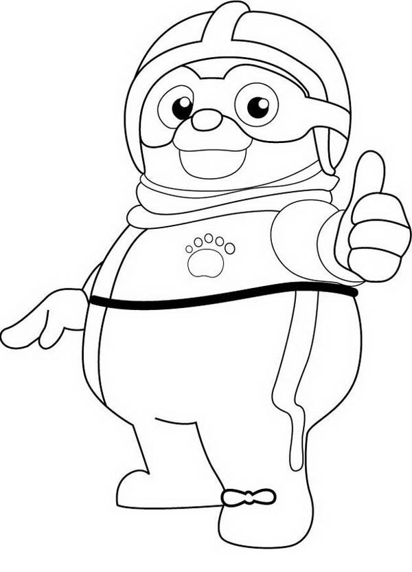 Cool Special Agent Oso Coloring