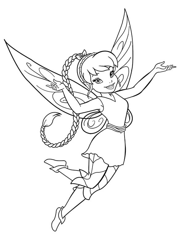 Fawn Fairy Coloring Pages Disney Coloring Pages