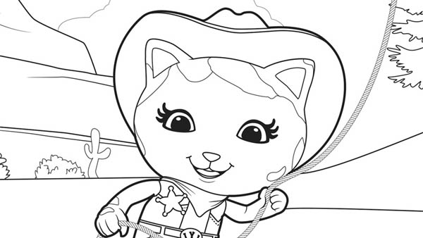 Coloring Pages Special Agent Oso Coloring Pages
