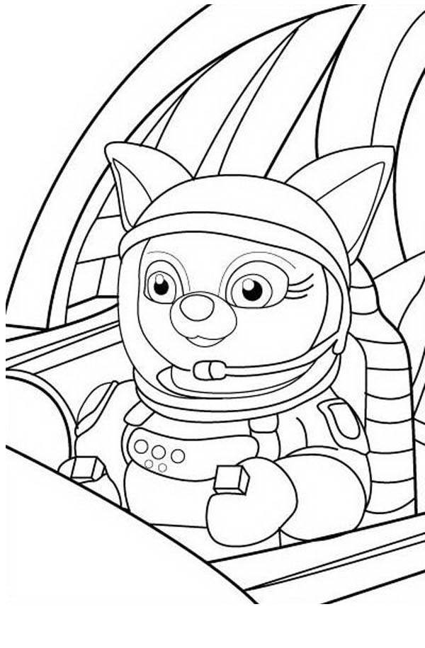 Dotty in Special Agent Oso Rocket Coloring Page Download Print