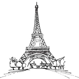 france tower coloring pages pictures to pin on pinterest