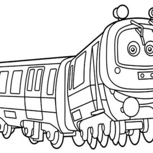 Emery from Chuggington Coloring Page