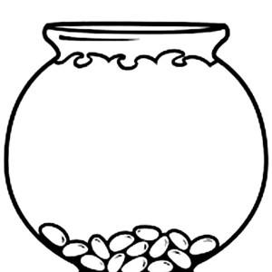 Empty Fish Bowl Colori...