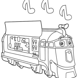 Happy Brewster of Chuggington Coloring Page: Happy Brewster of ...