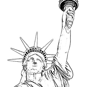 statue of liberty grover cleveland in statue of liberty coloring page grover cleveland in