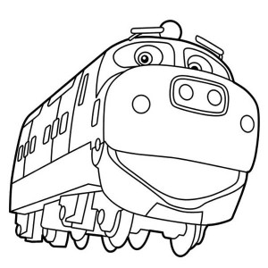 Chuggington Happy Brewster Of Coloring Page