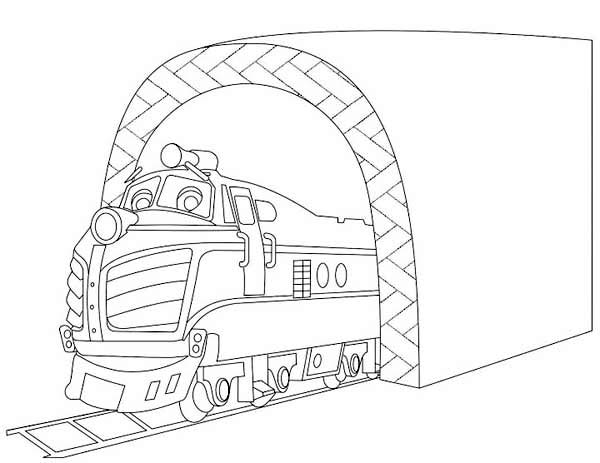 Harrison from chuggington coloring page download print for Chuggington coloring pages