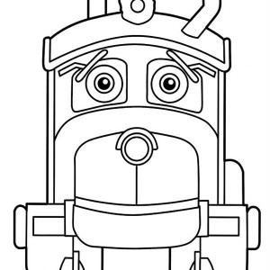 Irving from Chuggington Coloring Page