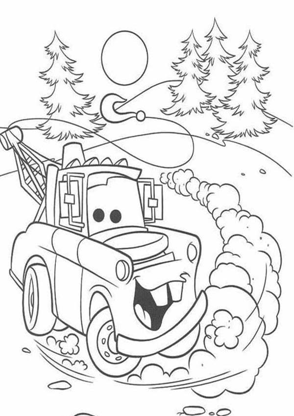cars ivan from disney cars 2 coloring page - Cars 2 Coloring Pages To Print