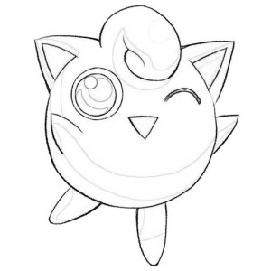 Download online coloring pages for free part 67 for Jigglypuff coloring page