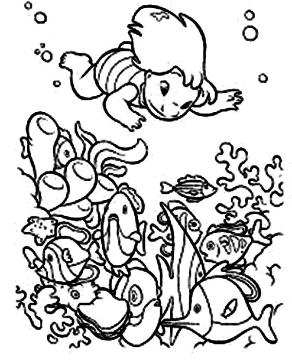 hawaiian coral reef coloring pages - photo#24