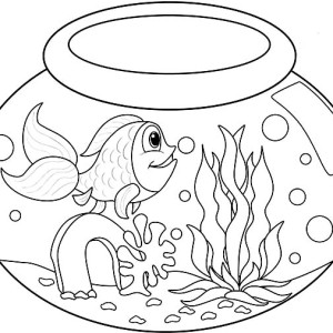 My Fish Bowl Coloring Page My Fish Bowl Coloring Page Color Nimbus