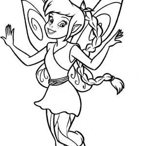 Disney Fairies Coloring Pages Vidia Coloring Pages