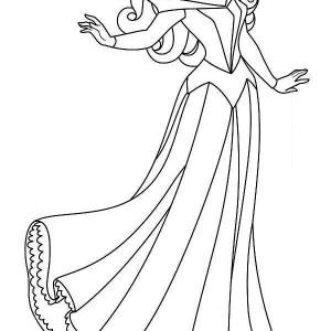 Princess aurora dancing with prince phillip coloring pages for Princess aurora coloring pages free