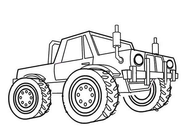 monster truck coloring pages mater bigfoot monster truck jam big foot 3