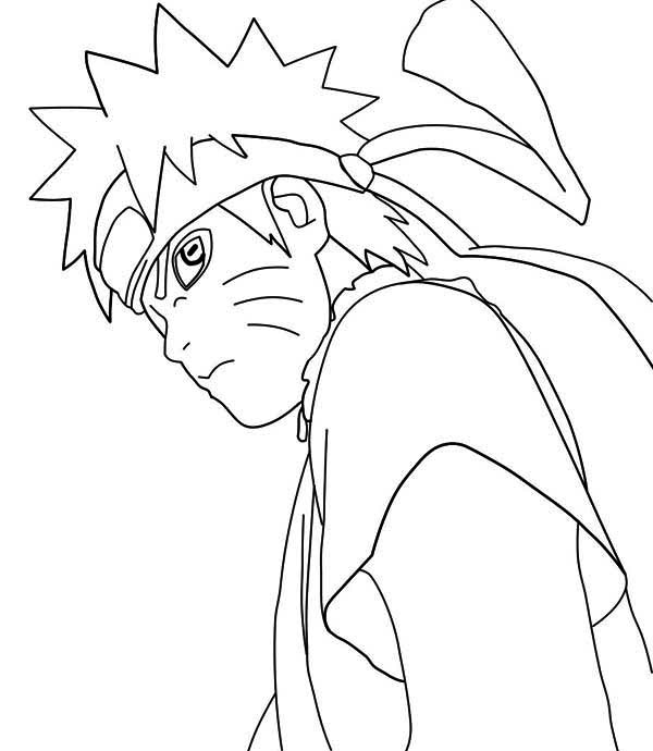 Naruto manga coloring page download print online for Naruto manga color pages