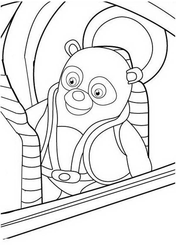 New Mission Special Agent Oso Coloring Page Download Print