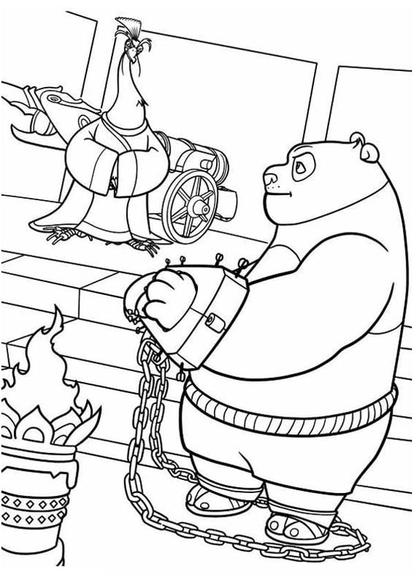 Handcuffs Coloring Page Coloring Pages