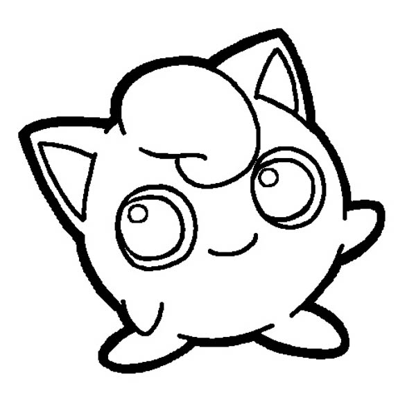 Pokemon jigglypuff coloring page download print online for Jigglypuff coloring page