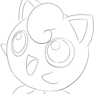 Pokemon Jigglypuff Picture Coloring Page