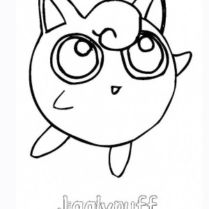 Jigglypuff Coloring Page