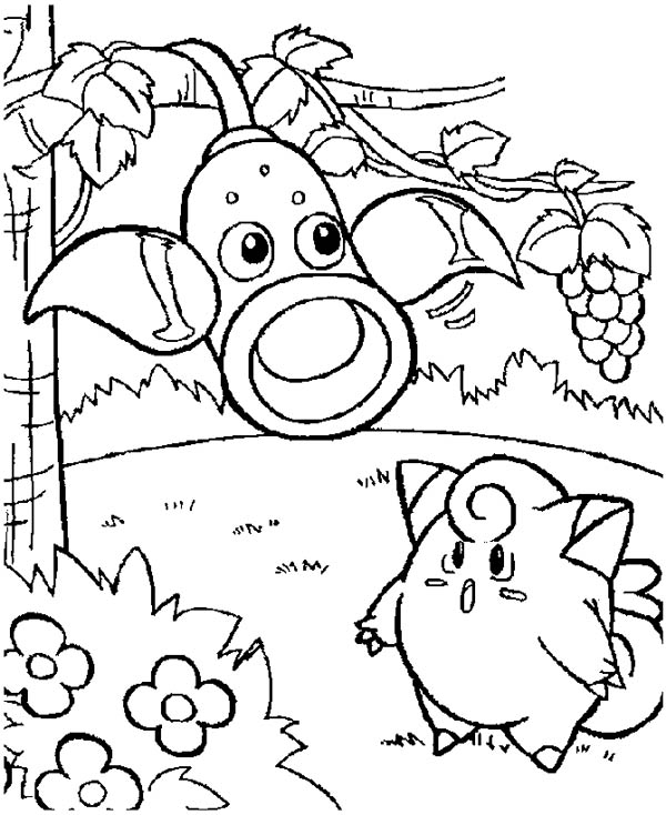 Jigglypuff free coloring pages for Jigglypuff coloring page
