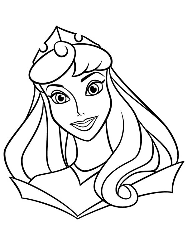 Princess Aurora Photo Coloring Page - Download & Print Online ...