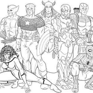 Avengers assemble free colouring pages for Coloring pages of the avengers
