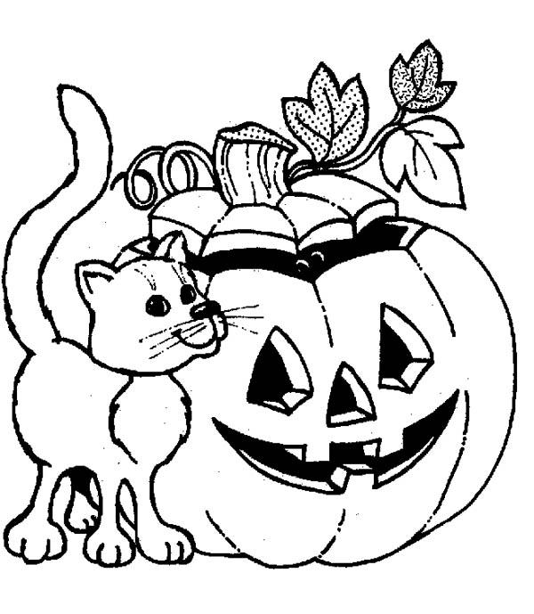 Pumpkins To Color  Vosvetenet