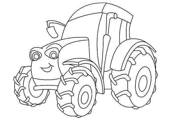 allis chalmers tractor coloring pages - photo#19