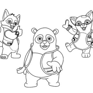 Special agent dotty of special agent oso coloring page for Special agent oso coloring pages