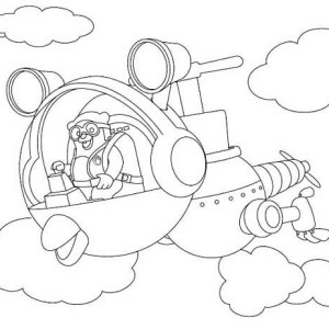 Special Agent Dotty of Special Agent Oso Coloring Page Special