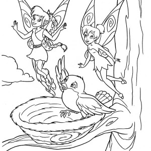 Disney Fairies Character Coloring Coloring Pages