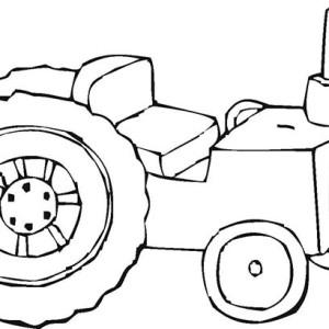 Tractor Coloring Page Color Nimbus