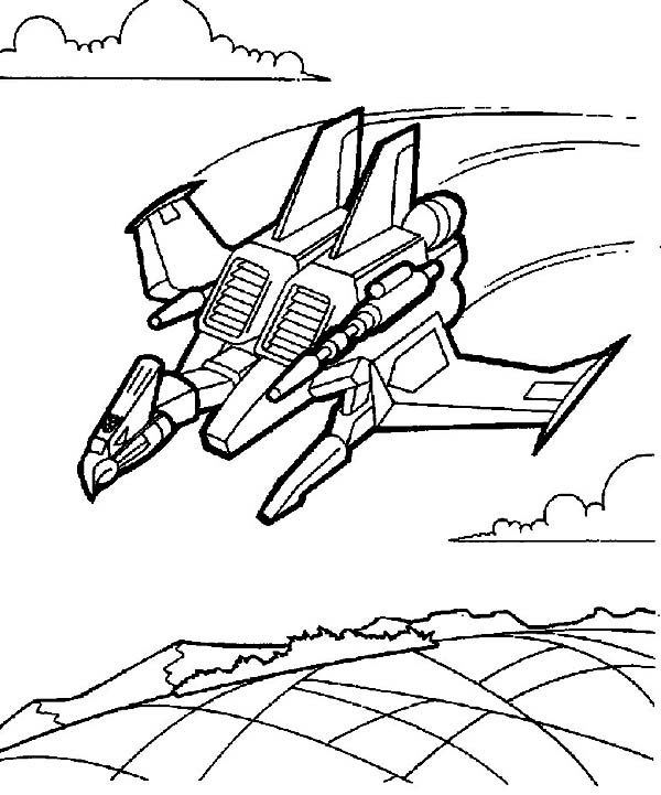 transformers coloring page - Transformer Coloring Page