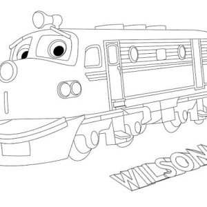 chuggington wilson from chuggington coloring page wilson from chuggington coloring page - Chuggington Wilson Coloring Pages