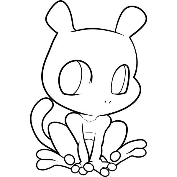 pokemon chibi coloring pages - photo#21