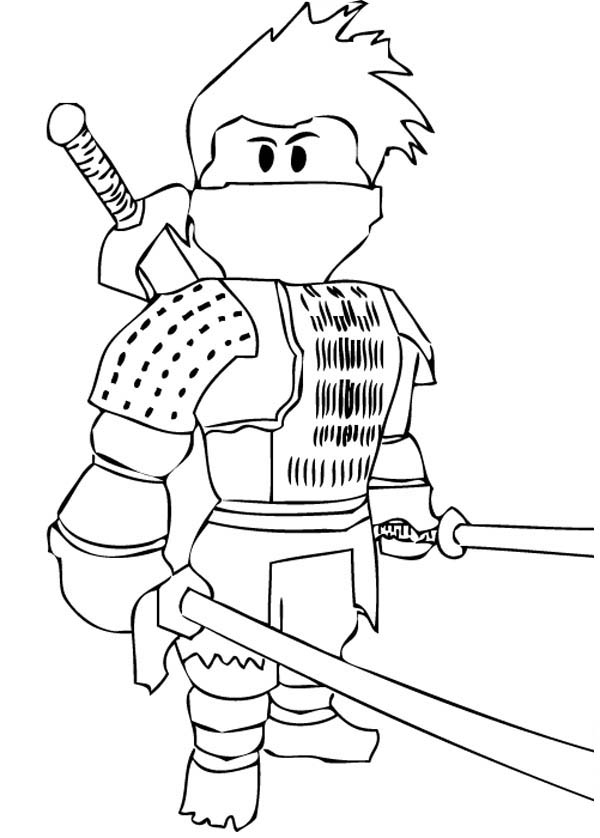 Ninja Coloring Pages Japanese Ninja Coloring Page  Download & Print Online Coloring .