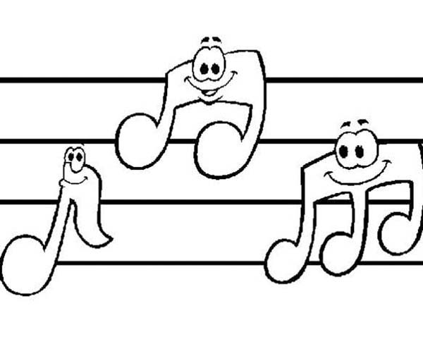 music notes music notes smile coloring page music notes smile coloring pagefull size image