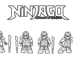 free printable ninjago coloring pages for kids - Coloring Pages Ninjago Green Ninja