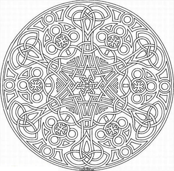 Geomtry Coloring Pages