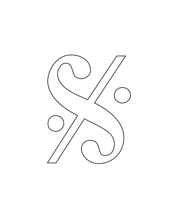 Segno on Music Notes Coloring Page - Download & Print Online ...