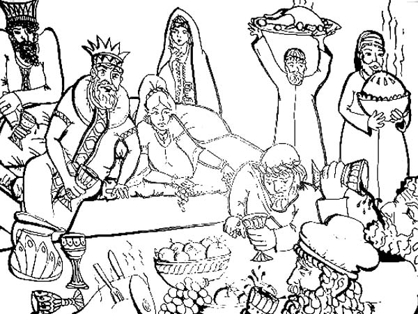 The Joyous and Fun of Purim Holiday Coloring Page - Download ...