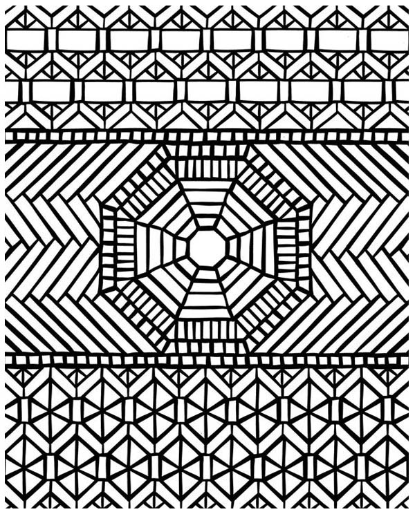 mosaic traditional pattern mandala mosaic coloring page traditional pattern mandala mosaic coloring pagefull size - Mosaic Coloring Pages