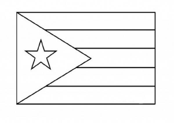 Junk food coloring pages - Puerto Rico Nation Flag Coloring Page Download Amp Print