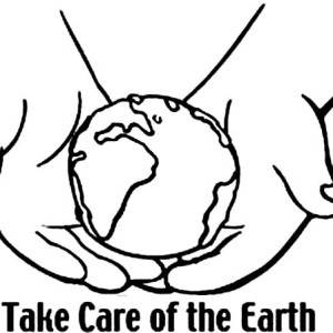 Take Care Of The Earth On Day Coloring Page